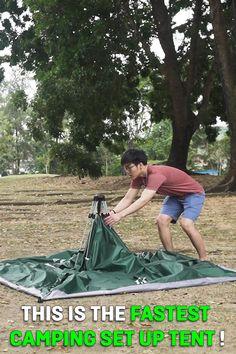 Petit Camping Car, Pop Up Camping Tent, Camping Glamping, Camping And Hiking, Camping Survival, Camping Life, Camping Gear, Camping Hacks, Outdoor Camping