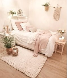 50 Best Bedroom Decor And Design Ideas With Farmhouse Style Minimalist Bedroom B. 50 Best Bedroom Decor And Design Ideas With Farmhouse Style Minimalist Bedroom Bedroom Decor Design Farmhouse Ideas Style Pink Bedroom Decor, Farmhouse Bedroom Decor, Pink Bedrooms, Wood Bedroom, Bedroom Furniture, Bedroom Colors, Blush Bedroom, Bedroom Inspo, Bedroom Decor Natural