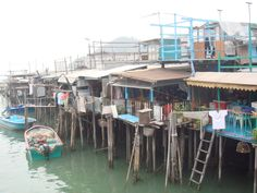 fishing village in Lantau Island
