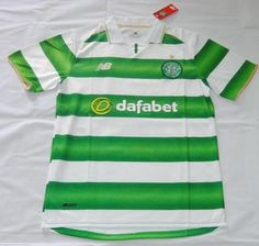 2016-17 Celtic Home Thaiand Short Sleeves Soccer Jersey