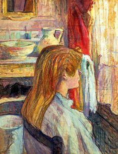 Woman at the Window / Henri de Toulouse-Lautrec - 1893-1892