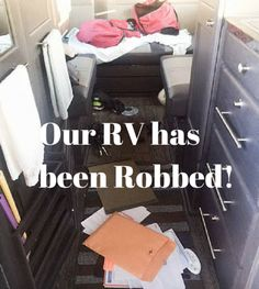 RT36: Roadtreking RV Burglary! We've Been Ripped Off!
