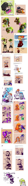 Splatoon Art Dump08 by TamarinFrog on DeviantArt