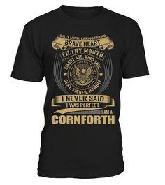 CORNFORTH - I Nerver Said