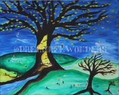 Dream Tree Wonders Fall Poster by DreamTreeWonders on Etsy