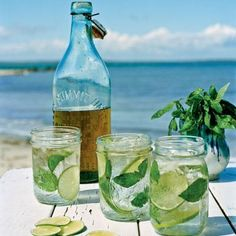 Five Classic Coastal Cocktails: Basil Tonic (Photo: Buff Strickland) | Coastalliving.com