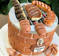 Dad Cake, Pasta, Confectionery, Deli, Birthday Celebration, Amazing Cakes, Cupcake Cakes, Waffles, Cake Recipes