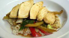 Teriyaki Chicken with Brown Whole Grain Rice.