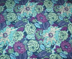 Rosalinda Rose Garden CP41379 by Springs Creative, Fabric by the Yard by LaCreekBlue on Etsy