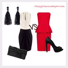 Idee outfit low cost per Natale e Capodanno 2012-2013 #outfit #outfitideas #lowcost #christimas #natale #newyear #capodanno
