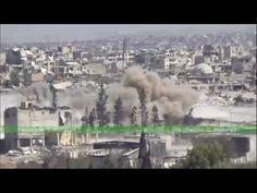 Guerra na Síria - Força Aérea limpa posições insurgentes no sul de Alepp...                                                                                                                                                                                 Mais