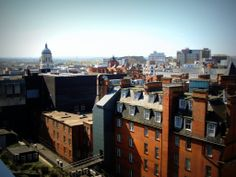 View of Nottingham from the Victoria Centre.