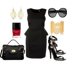 LBD - Plus Size #plus #size #fashion