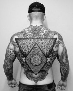 Full Chest Tattoos, Full Body Tattoo, Body Art Tattoos, Tribal Tattoos, Sleeve Tattoos, Tatoos, New Age Tattoo, Geometric Line Tattoo, Flesh Tattoo
