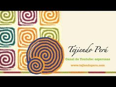 Todos los comentarios de Tejido en espiral en dos colores a crochet (redondo y cuadrado o granny square) - YouTube