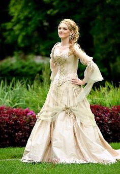 Fairy & Celtic Wedding Dress