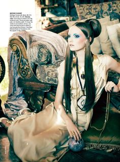 """""""Before Sunset"""" from the editorial """"Orient Excess"""" 