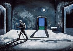 KALERVO PALSA Born March 1947 Died October 1987 (aged Occupation Artist Hugo Kalervo Palsa (March 1947 – October or Kalle was a Finnish artist in a style that has been. Halle, 1, Artist, Painting, Museum, Hall, Artists, Painting Art, Paintings