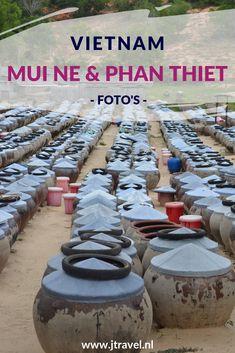 Phan Thiet is een populaire strandbestemming en beroemd om zijn Nuoc Mam (vissaus).  Mui Ne is bekend om zijn rode zandduinen die je kunt beklimmen. Mijn foto's van Mui Ne Phan Thiet zie je op mijn website. Kijk je mee? #muine #phanthiet #vissaus #vietnam #jtravel #jtravelblog #strand #fotos