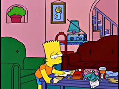 Tennessee Ernie Ford: You load 16 tons and what do you get / Another day older and deeper in debt Bart: Amen, Ernie.