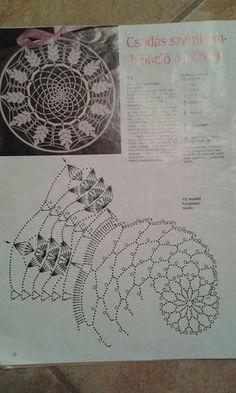 Best 12 Mandala patron We are want to say thanks if you like to sh Filet Crochet, Mandala Au Crochet, Crochet Doily Diagram, Crochet Doily Patterns, Thread Crochet, Irish Crochet, Crochet Doilies, Crochet Stitches, Knit Crochet