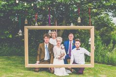 Image by  James Melia Photographers - An outdoor DIY tipi wedding with the bride wearing a Temperley London gown with groom in Paul Smith suit and photography by James Melia Photographers.