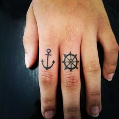 Small & Cute Finger Tattoo Designs and Ideas