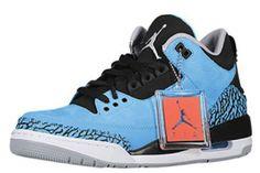 136064-406 Air Jordan 3 Powder Blue $119.99 for sale. http://www.newjordanstores.com/