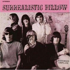 Jefferson Airplane - Surrealistic Pillow. Psych rock meets folk.