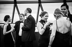 Claire + Tom's Wedding Reception at The Gherkin | Wedding Photographer