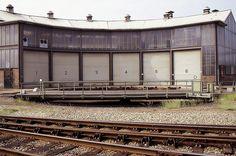 Draaischijf bij station Tilburg
