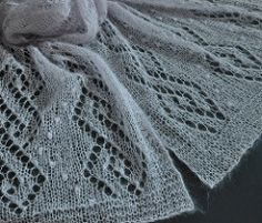 I am proud to say that I've used one of old Estonian motives to design this shawl. I thank ladies from Happsalu, for bringing us such lovely patterns.