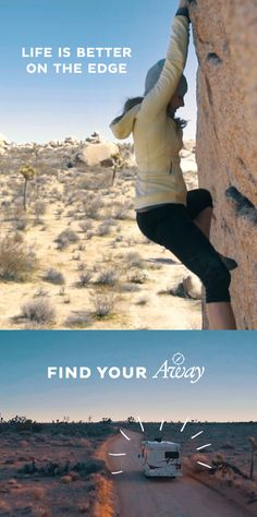 For professional rock climber Sasha DiGiulian, AWAY means reaching new heights. Watch her story and discover limitless opportunities when you Find Your AWAY.