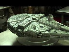 Making of the Millenium Falcon Cake - YouTube