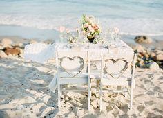 Bohemian Beach Wedding Inspiration | Green Wedding Shoes Wedding Blog | Wedding Trends for Stylish + Creative Brides