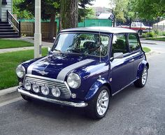 own an old Mini Cooper (a.k.a. a car with its own personality)
