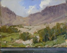 """""""Cloudripper and Sixth Lake"""", oil, 8""""x10"""" - Bill Anton"""