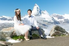 Wedding in Zermatt, could there be a better backdrop?