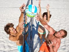 These white-sand volleyball courts would even impress the pros. Spike Zone is a great place to kick back and work on your hook serve and skyball.