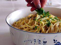 Schnell kochen mit One Pot Pasta Käse Knoblauch
