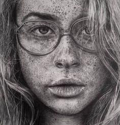 Artista cria desenhos hiper realistas apenas com lápis -desenho realista Monica Lee