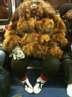 This heffa looks like she hunts fraggles…Lol!