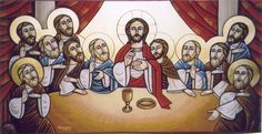 Coptic Orthodox Icons | The Last Supper.jpg