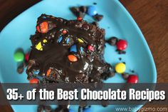 Need a chocolate fix? Over 35 amazing chocolate recipes for your sweet tooth! Cookies, cake, cupcakes, balls, bars. Definitely pin for later! #dessert #chocolatedessertrecipes