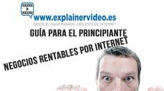 #NegociosRentablesporInternet #GuiaNegociosRetablesPorInternet Una pequeña guía para montar tu primer negocio rentable por internet Marketing, Board