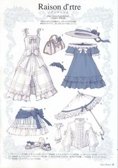 60 Ideas for fashion drawing dresses costumes – Kleidung zeichnen – – DEMO Manga Clothes, Drawing Clothes, Kleidung Design, Fashion Drawing Dresses, Drawing Fashion, Estilo Lolita, Anime Dress, Anime Outfits, Manga Drawing
