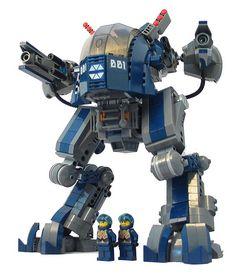 LEGO Mecha Goliath (via kidthor)