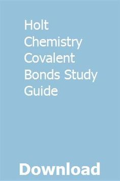 8 Best Covalent bond images in 2017 | Covalent bond, Chemistry