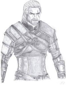 Geralt by Paryks on DeviantArt