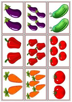37 Super Ideas for fruit and vegetables preschool games Preschool Learning, Kindergarten Activities, Preschool Crafts, Learning Activities, Preschool Activities, Crafts For Kids, Vegetable Crafts, Fruit Painting, Math For Kids